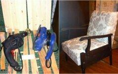 Darau pats: tarybinio fotelio prikėlimas antram gyvenimui
