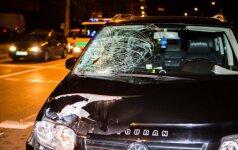 Vilniuje mirtinai sužalotas per gatvę ėjęs žmogus
