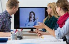 5 taisyklės, užtikrinančios virtualaus susitikimo sėkmę