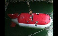Naujojo kinų povandeninio laivo bandymai