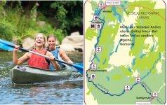 Baidarių maršrutai, kuriais privalote plaukti šią vasarą