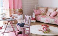 Idėjos, kaip originaliai įrengti vaiko kambarį 50 nuotraukų