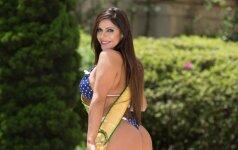 Savaitės diva: gražiausio Brazilijos užpakaliuko savininkė