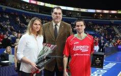 Apdovanoti geriausi praėjusių metų Lietuvos krepšininkai