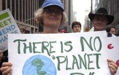 JT: nepaisant Paryžiaus susitarimo klimato pokyčiai bus katastrofiški