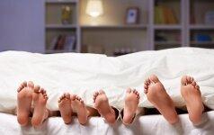 Patarimai, kad kūdikiai naktimis miegotų, o ne verktų