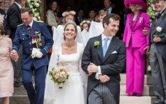 Vestuvinė Belgijos princesės suknelė - vintažinis grožis ar stiliaus klaida