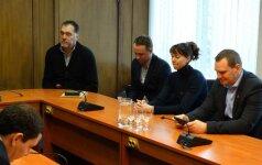 Marijampolėje apsilankiusi LKF delegacija aptarė moterų krepšinio perspektyvas