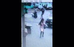 Užfiksuota, kaip Kijevo centre buvo nušautas D. Voronenkovas