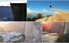 Gražiausios pasaulio vietos: nukrisi į prarają arba turėsi tobulą nuotrauką