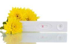 Internete parduodami teigiami nėštumo testai