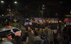Mažiausiai 15 žmonių sužeista per sprogimą Pakistane