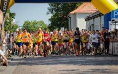 Marijampolės pusmaratonio startas