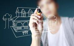 Svajonė – namas: pirkti ar statyti pačiam? specialistų patarimai