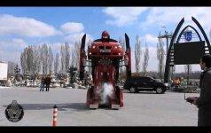 Filmas tapo realybe: turkai sukūrė BMW transformerį