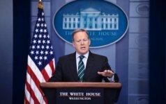 D. Trumpo atstovas spaudai tikrino savo patarėjų mobiliuosius telefonus