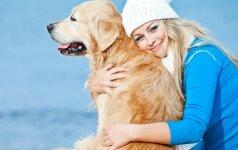 Moteris su šunimi – vyrų magnetas