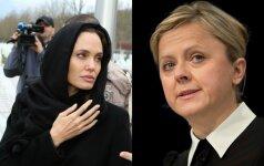 Angelina Jolie ir Arminka Helic