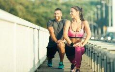 Sportuodami vasarą, atidėkite rekordus rudeniui