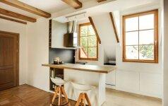 PRIEŠ ir PO: mažos virtuvės atgimimas Vilniuje už 5 tūkst. eurų