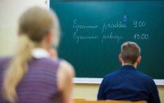 Dėl susidariusios padėties kaltina mokyklą