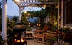 NAMAI. Keli paprasti žingsniai vasarai paruošti lauko terasą