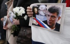 Prieš B. Nemcovui skirto filmo premjerą salėje dingo elektra