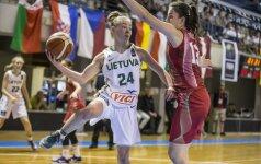 Lietuvos 18-metės krepšininkės pralaimėjo belgėms