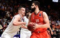 """""""Valencia Basket"""" palaužė J. Plazos auklėtinius ir žais Ispanijos Supertaurės finale"""