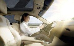 Stiklai automatiškai prisitaiko prie skirtingų eismo sąlygų
