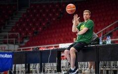 Atrankos varžyboms į Lietuvos rinktinę bus kviečiami 14 žaidėjų