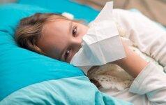 Gripo epidemiją atšaukė ir Varėna