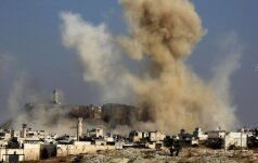Maskva metė Vakarams kaltinimus dėl rusų karo medikės žūties Alepe
