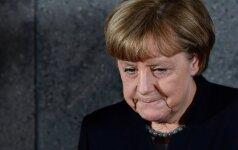 A. Merkel: Europos likimas – mūsų pačių rankose