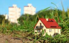 Kaip nepadaryti klaidos renkantis namo dydį?