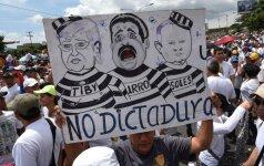 Venesueloje visos šalies mastu prasideda 48 valandų trukmės streikas