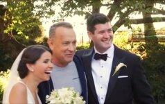 Netikėta vestuvių dovana: jaunavedžių fotosesija su T. Hanksu