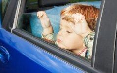 Tiesa ir mitai apie pykinimą važiuojant automobiliu