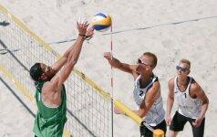 Paplūdimio tinklinis (FIVB nuotr.)