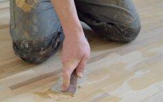 Kaip naudoti medienos glaistą