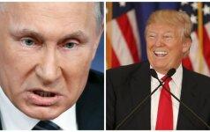 D. Trumpas toliau liaupsina V. Putiną