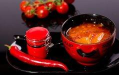 Savaitgalio pasilepinimui: aštri sriuba, kuri sušildys šaltą dieną