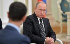 Basharas al Assadas, Vladimiras Putinas, kremlin.ru nuotr.