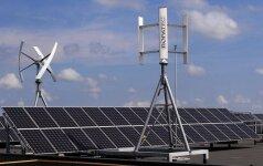Dubajuje pradėtas didžiausios pasaulyje saulės jėgainės projektas
