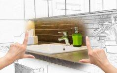 6 vonios kambario atnaujinimo patarimai