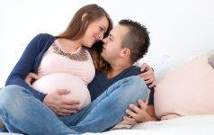 Ar tikrai seksas paskatina prasidėti gimdymą