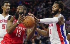 """""""Rockets"""" treneris neslepia: vadovauju sulaužytai komandai"""