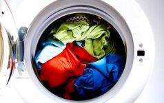 Dėl ko negalima skalbti 30°C temperatūroje ir kitos skalbimo gudrybės