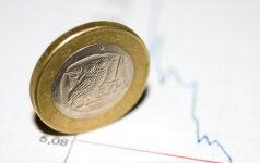 Rinkos pajuto palengvėjimą po balsavimo Prancūzijoje