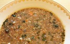 Kitoks gruziniškos charčio sriubos paruošimo variantas